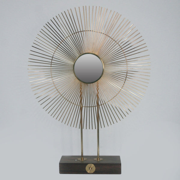 Iron -  Sunburst Sculpture