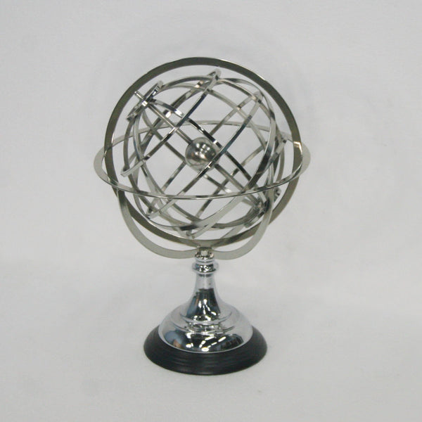 Iron - Globe Sculpture