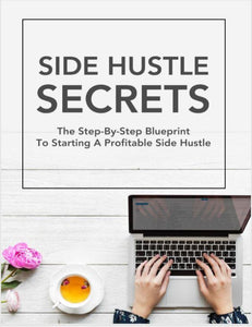 SIDE HUSTLE SECRETS SideHustle Shark