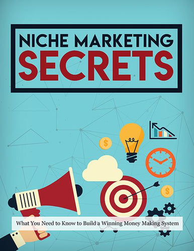 NICHE MARKETING SECRETS SideHustle Shark
