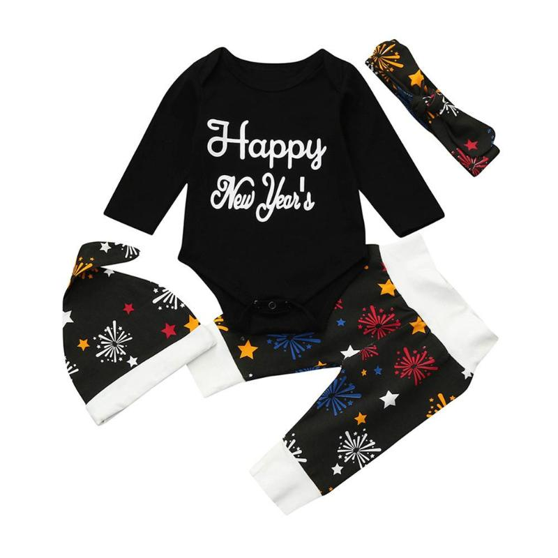 My First New Year Long Sleeve Set