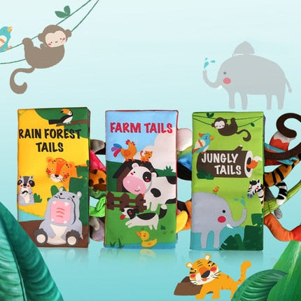 3 Style Baby Books - Early Learning With Animals