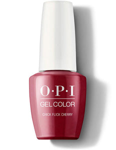 OPI Gel Color Chick Flick Cherry