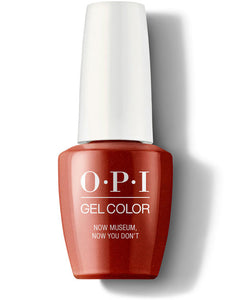 OPI Gel Color Now Museum Now You Don't