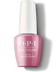 OPI Gel Color Not So Bora-Bora-ing Pink