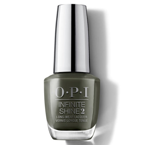 OPI Infinite Shine Things I've Seen in Aber-green