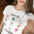 Vegan For Everything T-Shirt - Fairly Species
