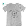 Powered By Plants T-Shirt - Vegan Flower