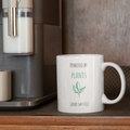 Powered By Plants & Coffee Vegan Mug