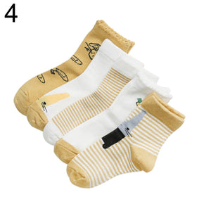 SZ 5 Pairs Cotton Socks - Sofizara
