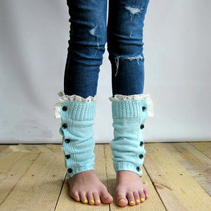 SZ Knitted Lace Socks - Sofizara