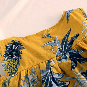Fashion Summer Pineapple Pattern - Sofizara
