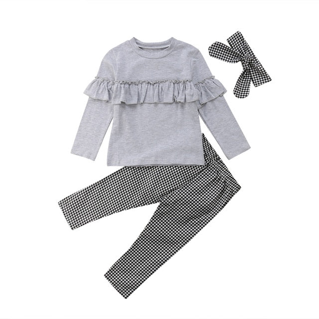 Pudcoco 3 Pcs Outfits Pants, Leggings&Headband - Sofizara