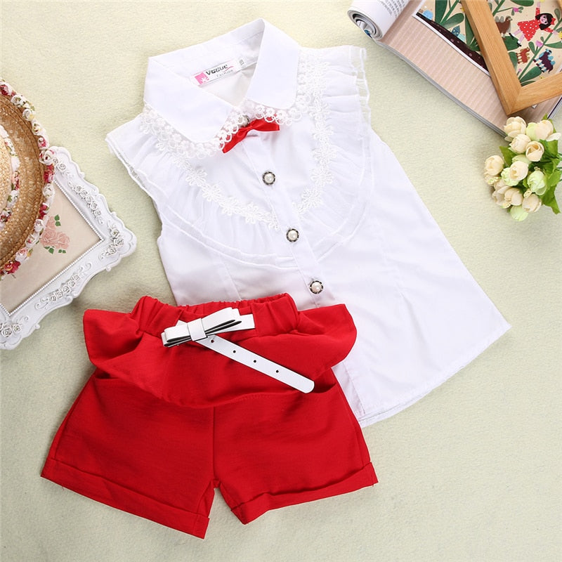 Emmababy Summer 2pcs Outfits Set - Sofizara
