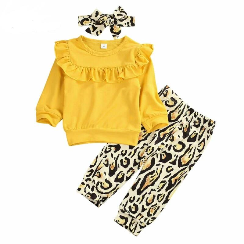 Imcute Girls Outfits 3Pcs - Sofizara