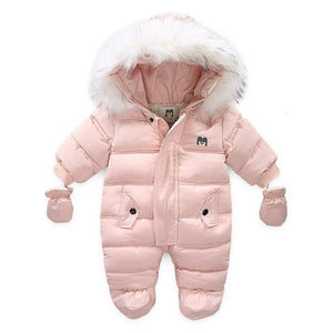 Bratyeessi Baby Girls/Boy Winter Thick Jact/Jumpsuit - Sofizara