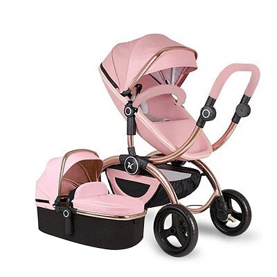 Luxury Baby Stroller 3 in 1 Portable Folding - Sofizara