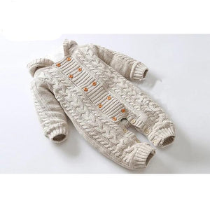 Thick Warm Infant Knitted Sweater - Sofizara