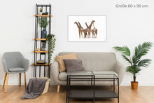 Laden Sie das Bild in den Galerie-Viewer, Die Versammlung der Giraffen - The Councel of the Giraffes