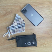 Load and play video in Gallery viewer, Fit-Anywhere Protect Your Mask Pouch (Black Kat Exclusive)
