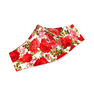 Red Roses Printed Washable Face Mask