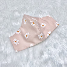 Load image into Gallery viewer, Cute Daisies 100% Pure Cotton Mask
