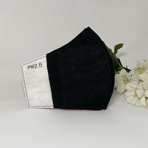 Pure Cotton Mask with Filter Pocket