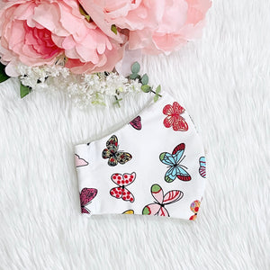 Colorful Butterflies 100% Pure Cotton Mask