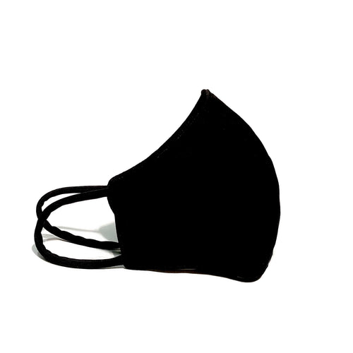 Black Polyester Mask With Filter