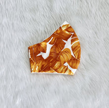 Load image into Gallery viewer, Tropical Wide Leaves 100% Pure Cotton Mask