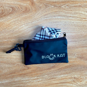 Fit-Anywhere Protect Your Mask Pouch (Black Kat Exclusive)