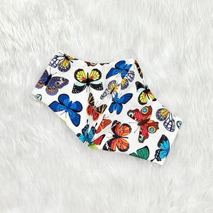 Bright Butterflies 100% Pure Cotton Mask