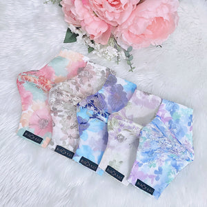 Delicate Premium Lace Flowers Set 100% Pure Cotton Mask