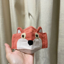 Load image into Gallery viewer, Foxy Fox Kids Face Mask