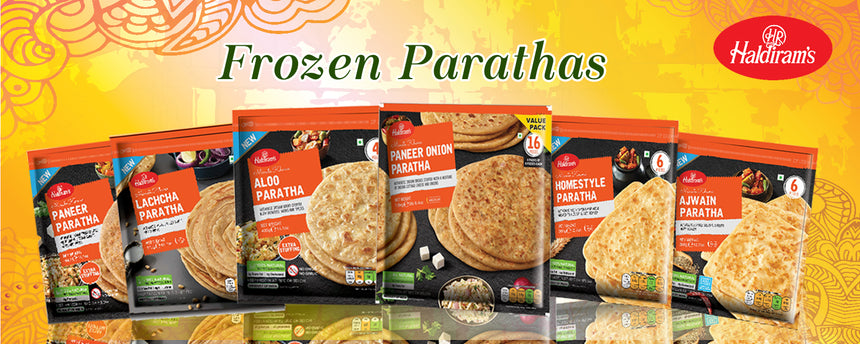 Haldiram Paneer Onion Paratha (4 pieces)