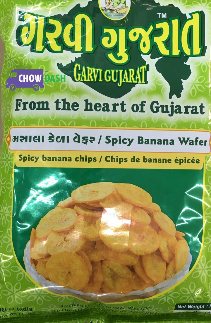 Spicy Banana Wafer Garvi Gujarat (180 gms)