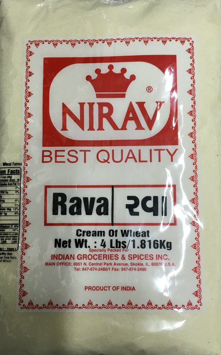 Rava Fine (Cream of Wheat) Nirav (4 lbs)