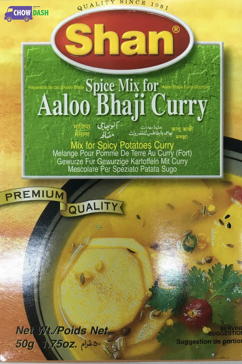 Aaloo Bhaji Curry - Shan (1.75 oz)