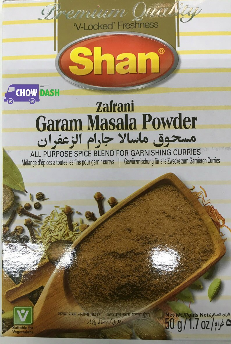 Garam Masala Powder - Shan (1.7 oz)