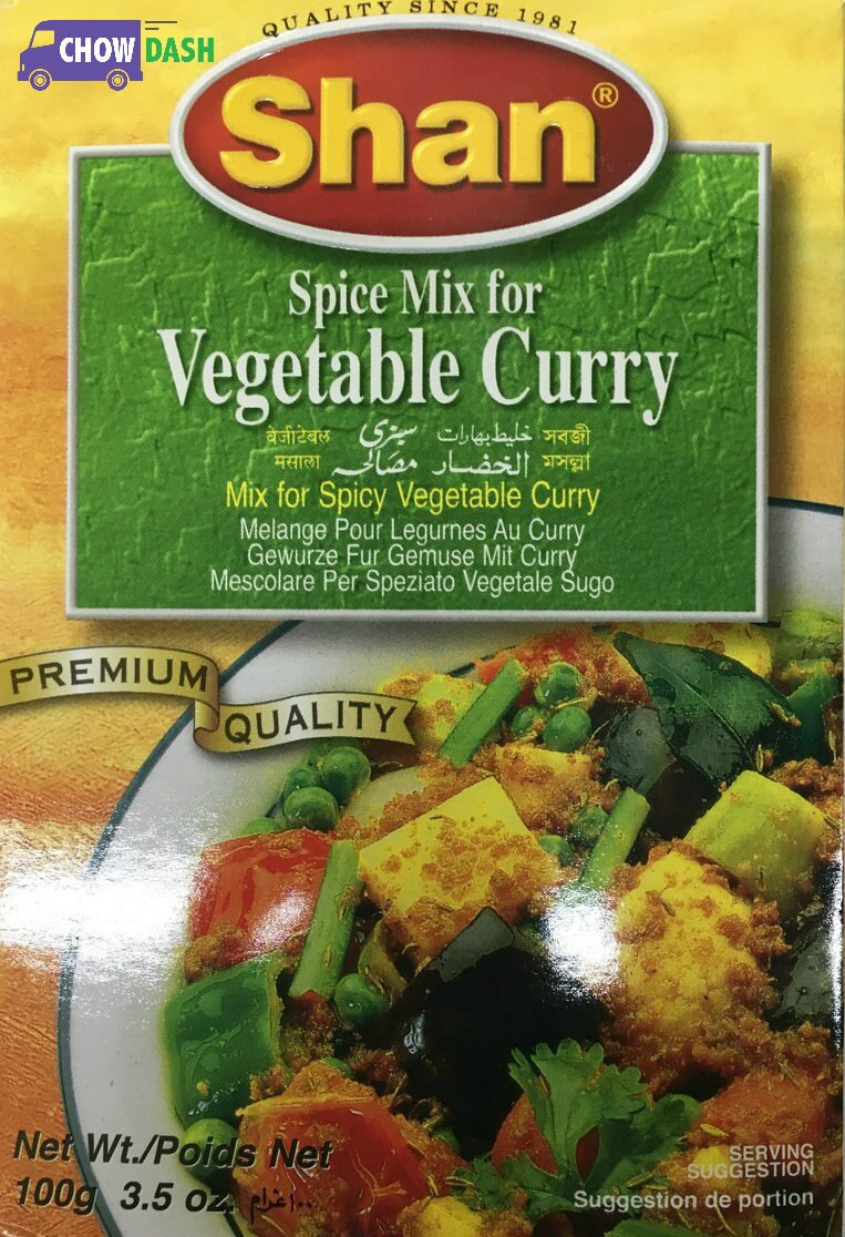 Vegetable Curry - Shan (3.5 oz)