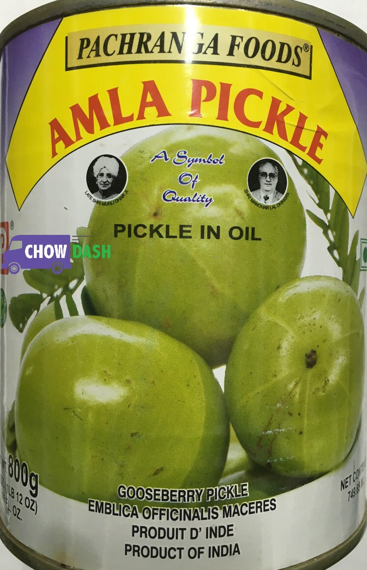 Amla Pickle - - Pachranga Foods (12 oz)