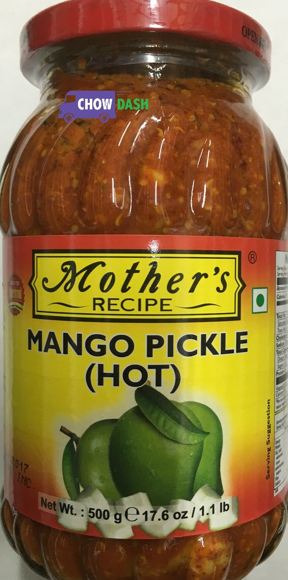 Mango Pickle - Mother's Recipe (17.6 oz)