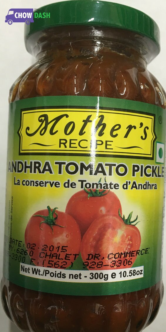 Andhra Tomato Pickle - Mother's Recipe (10.6 oz)