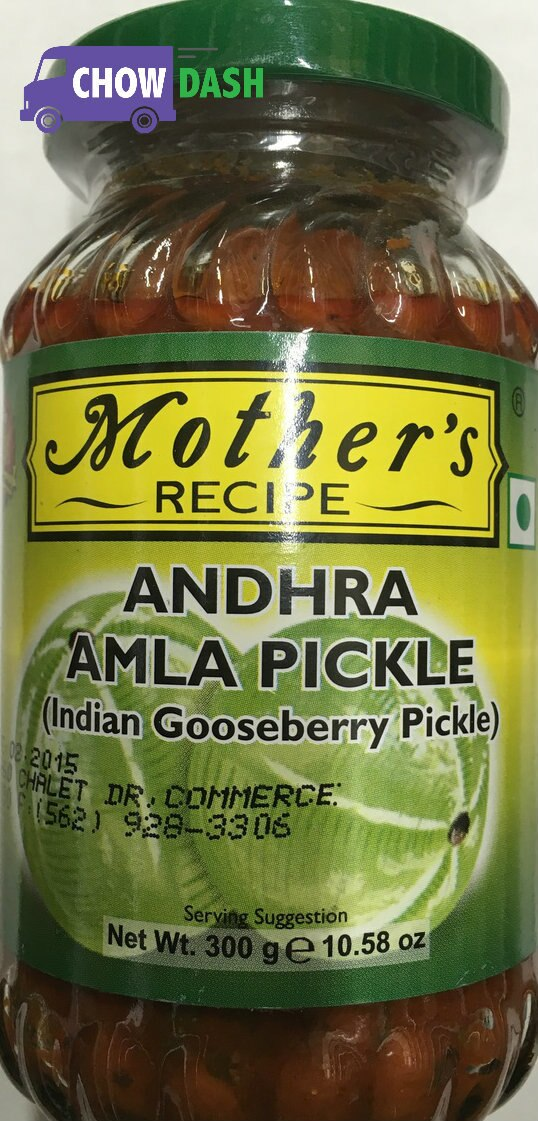 Andhra Amla Pickle - Mother's Recipe (10.58 oz)