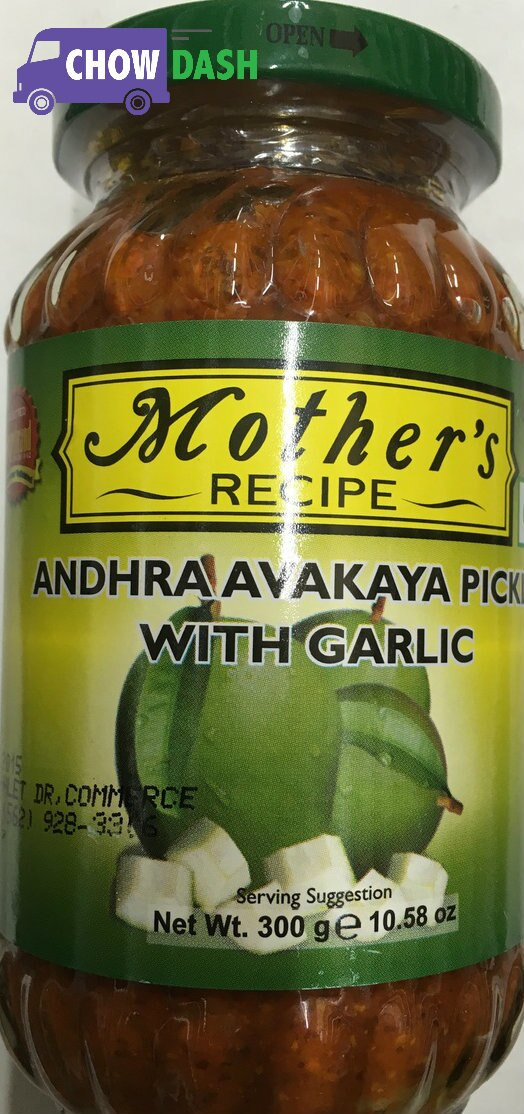 Andhra Avakaya Pickle - Mother's Recipe (10.58 oz)