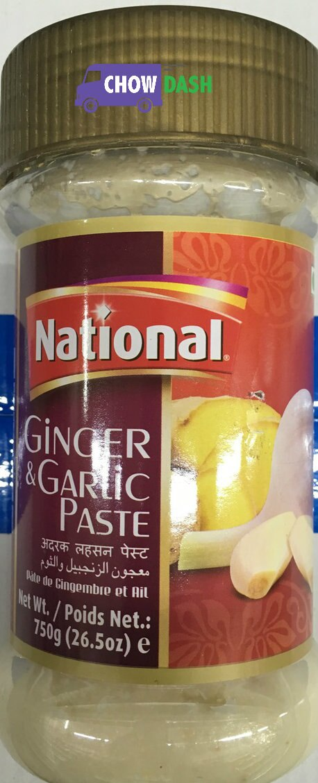 Ginger & Garlic Paste - National (26.5 oz)