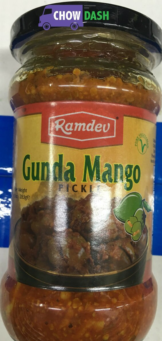 Gunda Mango Pickle - Ramdev (3.9 oz)