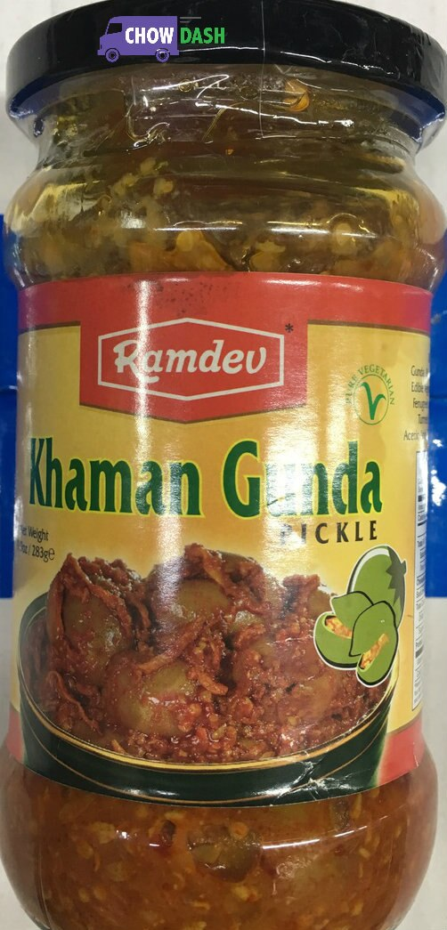 Khaman Gunda Pickle - Ramdev (3.9 oz)