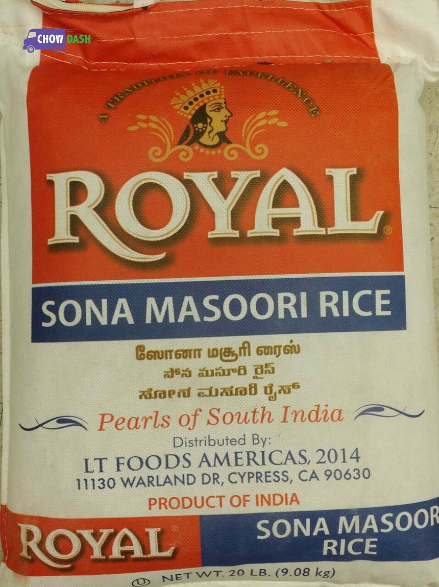 Royal Sona Masoori Rice (20 lb)