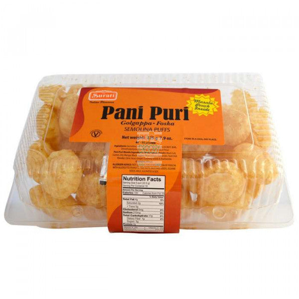 Pani Puri - Deep (2 packets - 56 to 64 pieces)